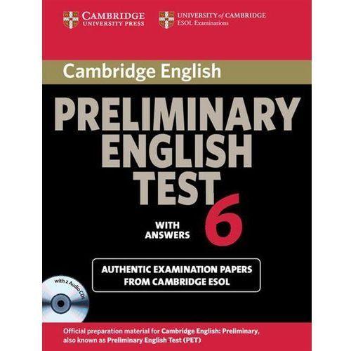 Książki do nauki języka, Cambridge Preliminary English Test 6 Self-Study Pack (Student's Book with Answers with Audio CDs (2)) (opr. miękka)
