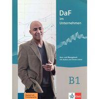 Książki do nauki języka, Daf im Unternehmen B1 Kurs- und Ubungsbuch - Dostawa 0 zł (opr. miękka)