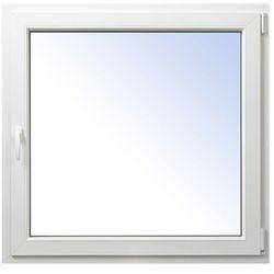 Okno PCV rozwierno-uchylne 1065 x 1035 mm prawe