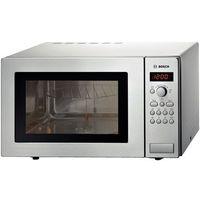 Mikrofalówki, Kuchenka mikrofalowa BOSCH HMT 84G451 (25 l / z grilem / srebrna)