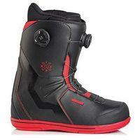 Buty do snowboardu, buty snowboardowe DEELUXE - IDxHC Boa Focus PF black/red (3927) rozmiar: 43.5