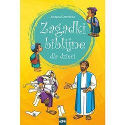 Zagadki biblijne dla dzieci - Czernicka Justyna - książka (opr. broszurowa)