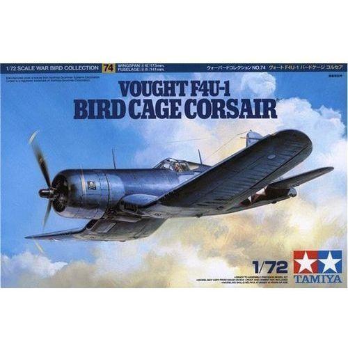 Figurki i postacie, Model plastikowy Vought F4U-1 Bird Cage Corsair