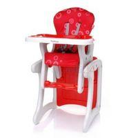 Krzesełka do karmienia, 4Baby Krzesełko do karmienia FASHION czerwone