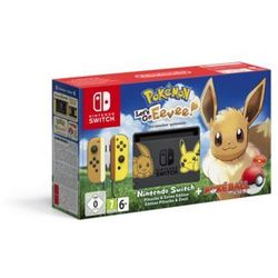 Nintendo Switch Pokemon: Let's Go Eevee! Limited Edition