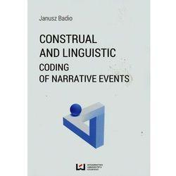 Construal and Linguistic Coding of Narrative Events - Badio Janusz