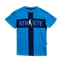T-shirt chłopięcy z nadrukiem niebieski Denley T3323