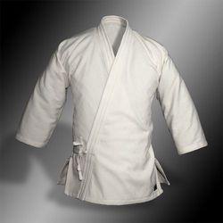kimono do aikido TONBO - SQUARE, białe, 250g/m2 - damskie