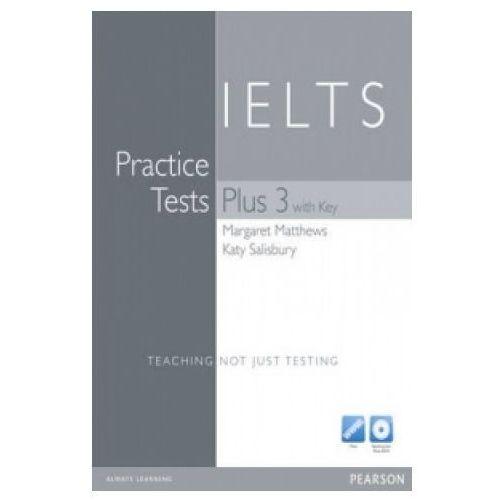 Książki do nauki języka, Practice Tests Plus IELTS 3 With Key (opr. twarda)