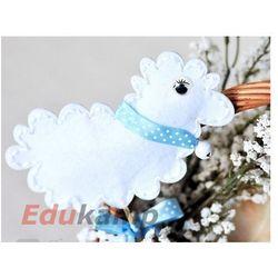 Zestaw kreatywny DPCRAFT Owieczka z filcu na patyku (KSFI-204) Wielkanoc