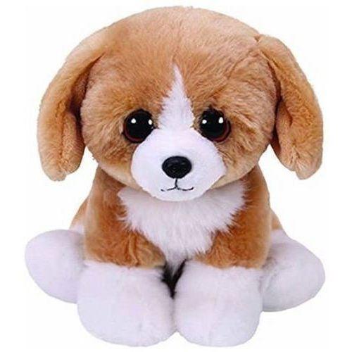 Pluszaki zwierzątka, Beanie Babies Franklin - Brązowy Pies 15cm
