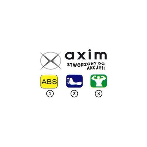 Buty sportowe dla dzieci, AXIM 2TE4099 czarny, tenisówki dziecięce, rozmiary 25-30 - Czarny