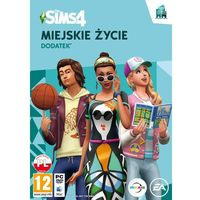 Gry PC, The Sims 4 Miejskie Życie (PC)