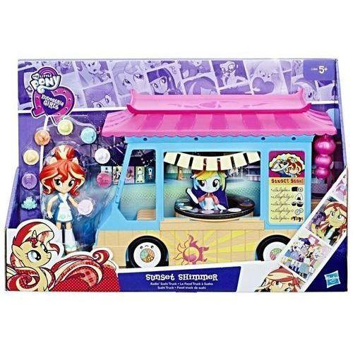 Figurki i postacie, My Little Pony EG Mini Zestaw Sushi Truck Sunset Shimmer - Hasbro