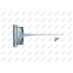 Pružinový samozatvárač dverí Zn, H100mm, L235mm