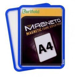 Kieszeń magnetyczna A4, 2 szt., niebieska