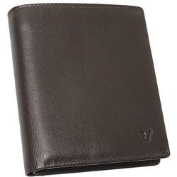 Roncato Pascal 41_2910_44 portfel męski skórzany / brązowy - brązowy