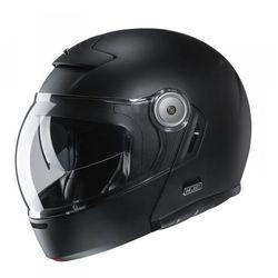 Hjc kask szczękowy v90 semi flat black