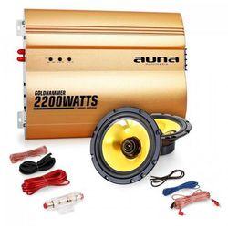 "Auna ""Golden Race V1"" - 5"" 2.0 samochodowy zestaw Hifi"