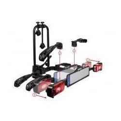 Składany uchylny bagażnik na rowery EUFAB CROW PLUS dostawka 2+1