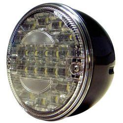 Tralert Lampa cofania LED, tylna, przezroczysta, okrągła, 140WSTIM Darmowa wysyłka i zwroty