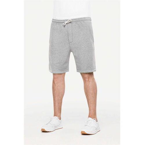 Pozostała odzież męska, szorty REELL - Sweat Structured Grey (STRUCTURED GREY)