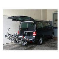 Bagażniki rowerowe do samochodu, Składany bagażnik na rowery EUFAB PREMIUM II PLUS
