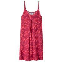 Sukienki dziecięce, Sukienka shirtowa z nadrukiem bonprix czerwony wiśniowy - koralowy z nadrukiem
