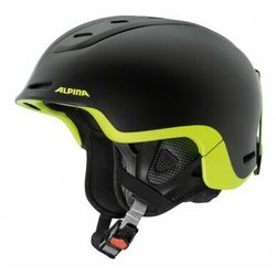 ALPINA SPINE BLACK YELLOW KASK NARCIARSKI FREERIDE R. 52-56
