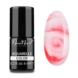 NeoNail RED AQUARELLE Lakier hybrydowy (5753)