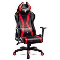 Fotel DIABLO CHAIRS X-One Horn (XL) Czarno-czerwony