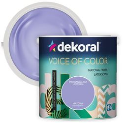 Farba Dekoral Voice of Color prowansalska lawenda 2,5 l