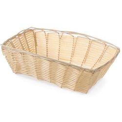 Koszyk prostokątny z polirattanu | 230x150x(H)70mm