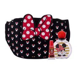 Disney Minnie Mouse zestaw EDT 50 ml + błyszczyk do ust 6 ml + nerka dla dzieci