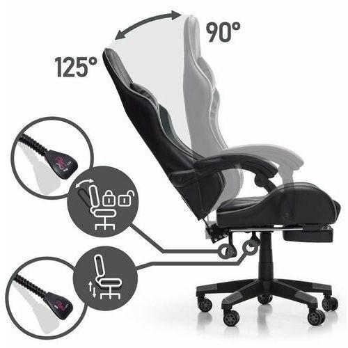 Fotele dla graczy, Fotel gamingowy NORDHOLD - FENRIR - szary