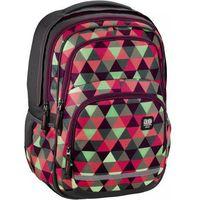 Tornistry i plecaki szkolne, HAMA ALL OUT plecak szkolny BLABY Happy Triangle