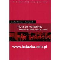 Książki popularnonaukowe, Klucz do marketingu. Najważniejsze teorie, pojęcia, postaci (opr. miękka)