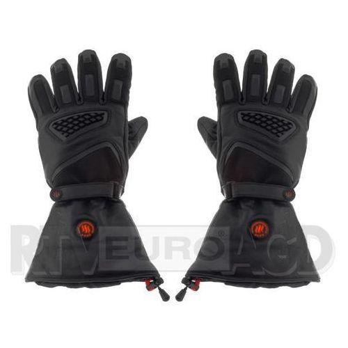 Rękawice motocyklowe, GLOVII Ogrzewane rękawice motocyklowe XL (czarny)