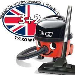 Odkurzacz Numatic Henry HVR 200 + akcesoria dodatkowe: worki oryginalne 10 szt. i turboszczotka