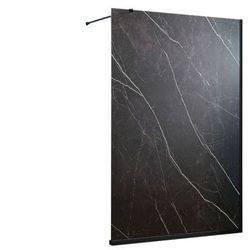 Ścianka prysznicowa do bezbrodzikowego prysznica ARMANA efekt marmuru - 140x200cm