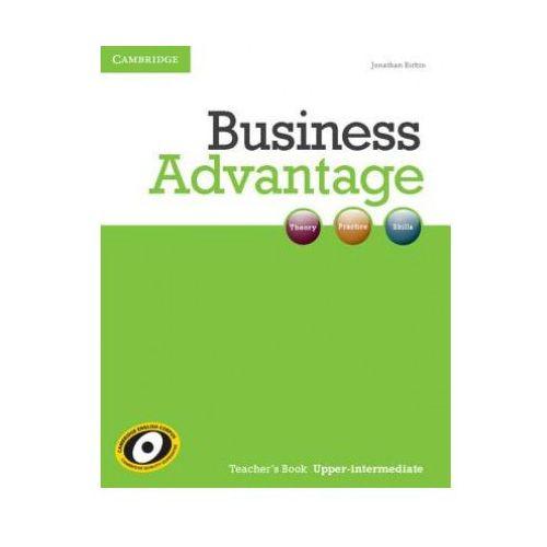 Książki do nauki języka, Business Advantage Upper Intermediate Książka Nauczyciela (opr. miękka)
