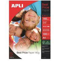 Papiery fotograficzne, Papier fotograficzny APLI Everyday Photo Paper, A4, 280gsm, błyszczący, 25ark.