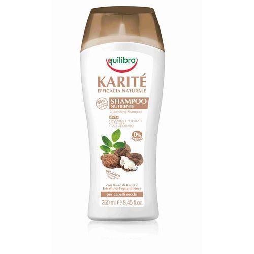 Mycie włosów, Equilibra Naturale Szampon z masłem Shea do włosów 250ml - Beauty Formulas