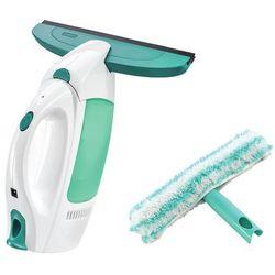 Zestaw: odkurzacz do szyb WINDOW CLEANER oraz dwustronny mop ręczny do szyb - CLICK System LEIFHEIT 51002