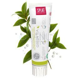 Splat Green Tea 100ml - ochronna pasta wybielająca, łagodząca podrażnienia dzięki naturalnym ekstraktom z ziół leczniczych