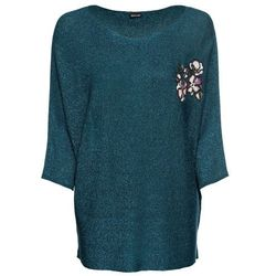 "Sweter ""oversized"" bonprix jasny lila"