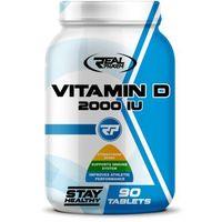 Witaminy i minerały, Real Pharm Vitamin D 2000IU - 90 tab.
