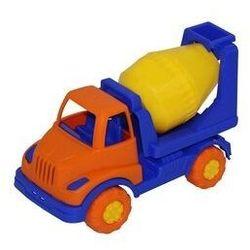 Knopik samochód-betoniarka
