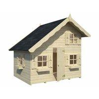 Domki i namioty dla dzieci, Drewniany domek dla dzieci Staś