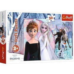 Puzzle 30 elementów Magiczna Kraina Lodu Frozen 2 (18275). od 3 lat